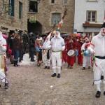 Dans les rues de Saint Didier en Velay Carnaval 2009