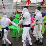 Carnaval brule Saint Didier en Velay 2009