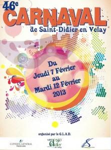 Affiche programme 2013